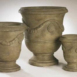 3 Ceramic Urns
