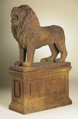 Lion Statue B