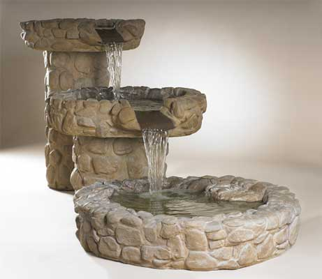 Cascade Waterfall Fountain, Medium