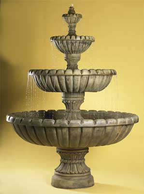Marsala 4-Tier Fountain