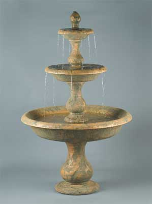 Old Toscano Fountain, 3-Tier