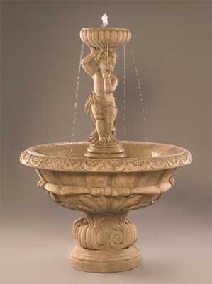 Reflective Moment Fountain