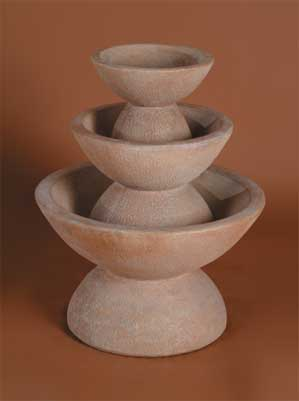Color Bowl Fountain, 3-Tier