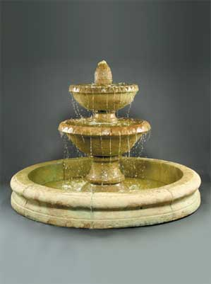 Sonoma Fountain w/Old Euro Basin