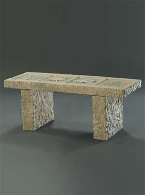 Four Seasons Granite Bench
