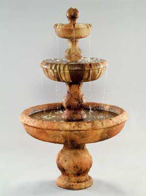 Old Classic 3-Tier Fountain