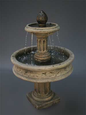 Column Base Fountain