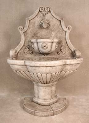 Large Woodside Wall Fountain