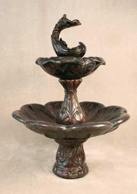 2-Tier Birds Fountain