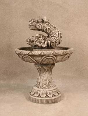 Vine Birds Fountain