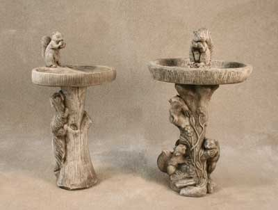 Squirrel Bird Baths