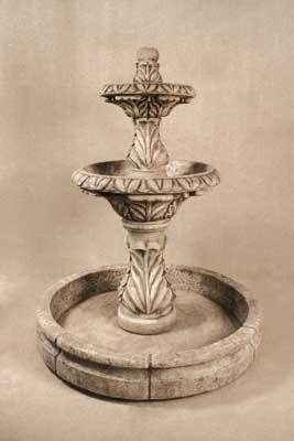 Spanish Pool Fountain