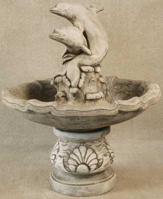 Double Dolphin Fountain