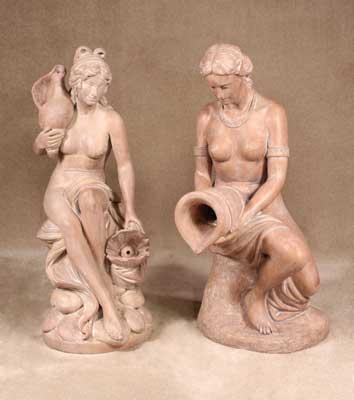 Shell Girl and Eva