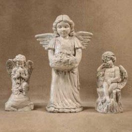Angel Dove, Angel Garden Basket, Crying Angel