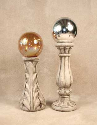 Gazing Ball and Stands