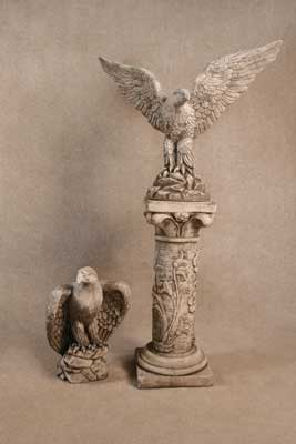 Eagles and Pedestal