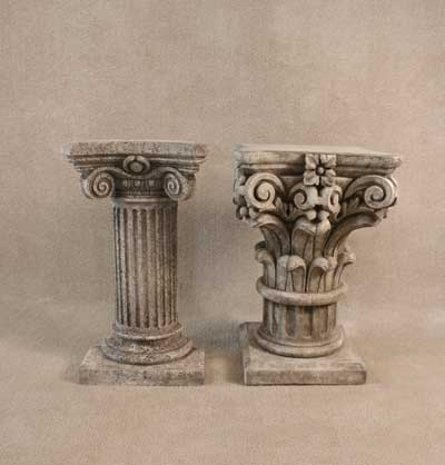 Half Roman and Corinthian Column