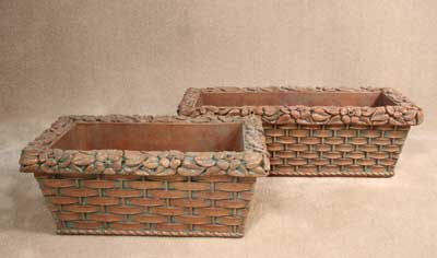 Rose Trim Planter Boxes