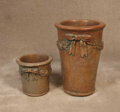 Pots with Bows