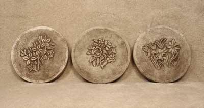 Floral Step Stones (3 patterns)