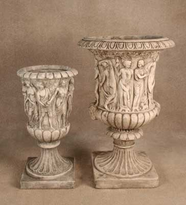 Toscana and Firenze Urns