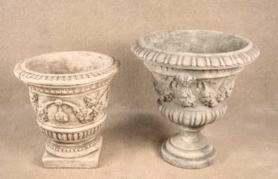 Garland Planter and Garland Urn