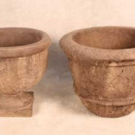Atherton Urn and Rustic Pot