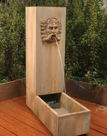 Water Trough Fountain