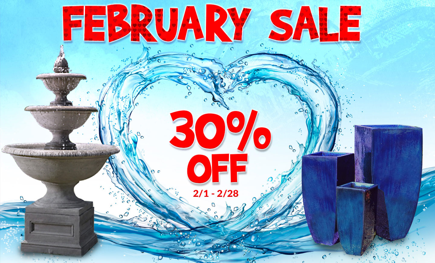 FEBRUARY SALE - 30% OFF EVERTHING