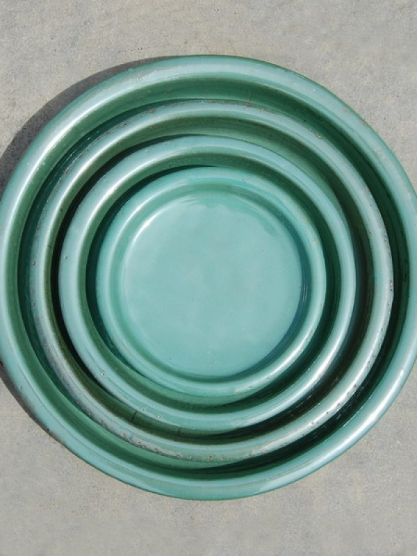 Saucers Ceramic - Set of 5