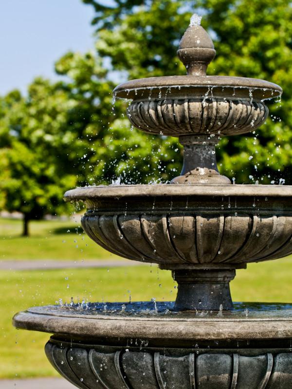 Three Tier Longvue Fountain