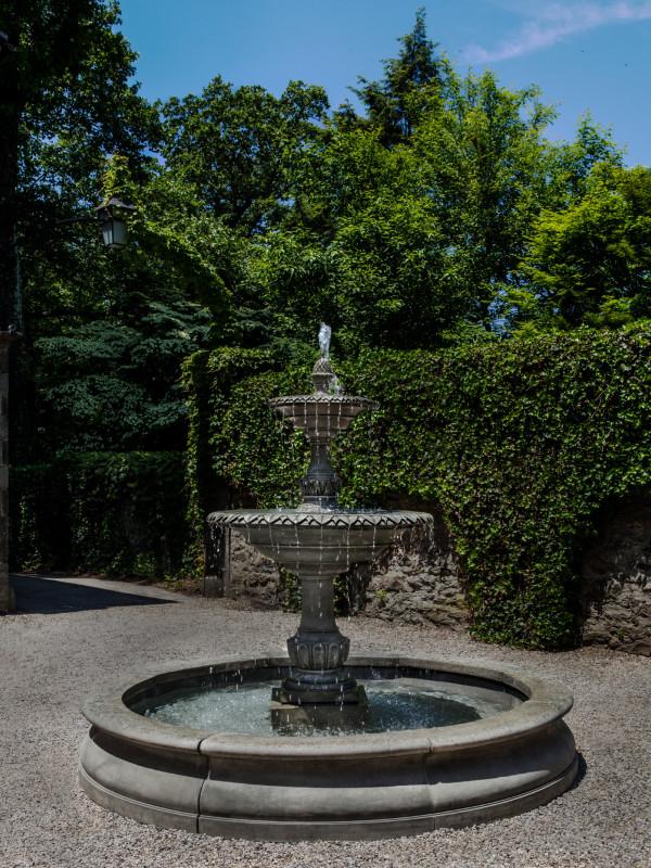Charleston Fountain in Basin