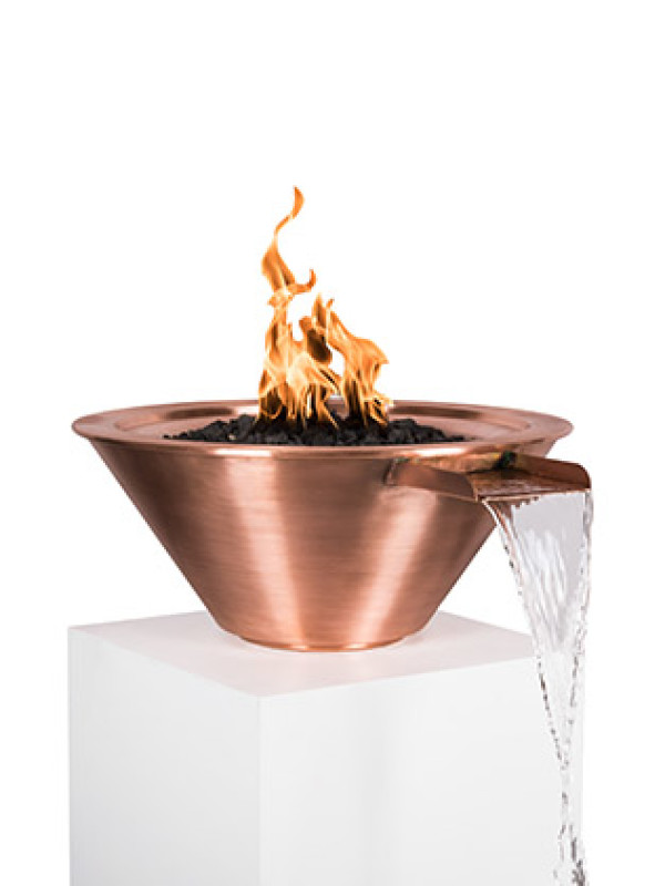 Fire Bowl - with Fountain Scupper 2