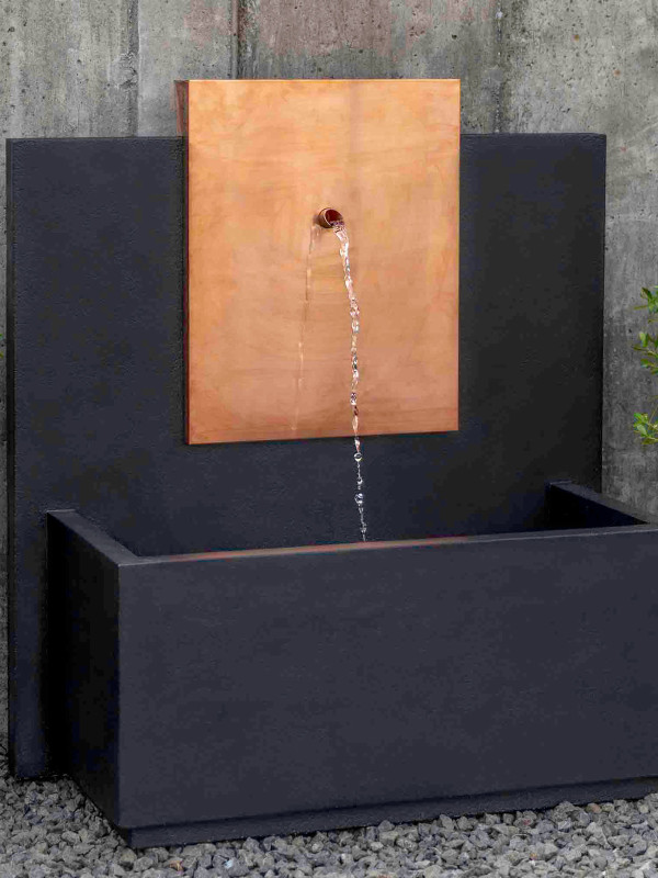 MC3 Fountain-Corten Steel(CS)