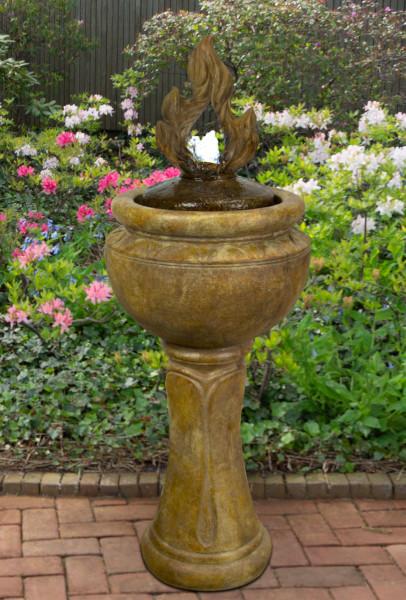 5331F2DRL-Tall-Fiery-Flame-Bubbler-Fountain