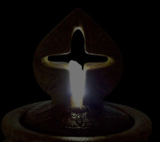 5332F2x-Antique-Cross-Bubbler-Fountain—Night