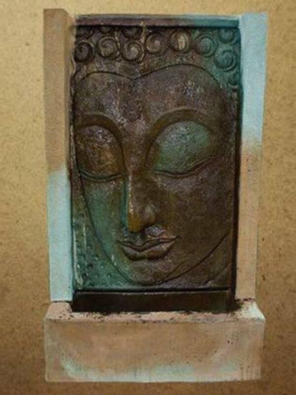 Buddha Wall Fountain Large