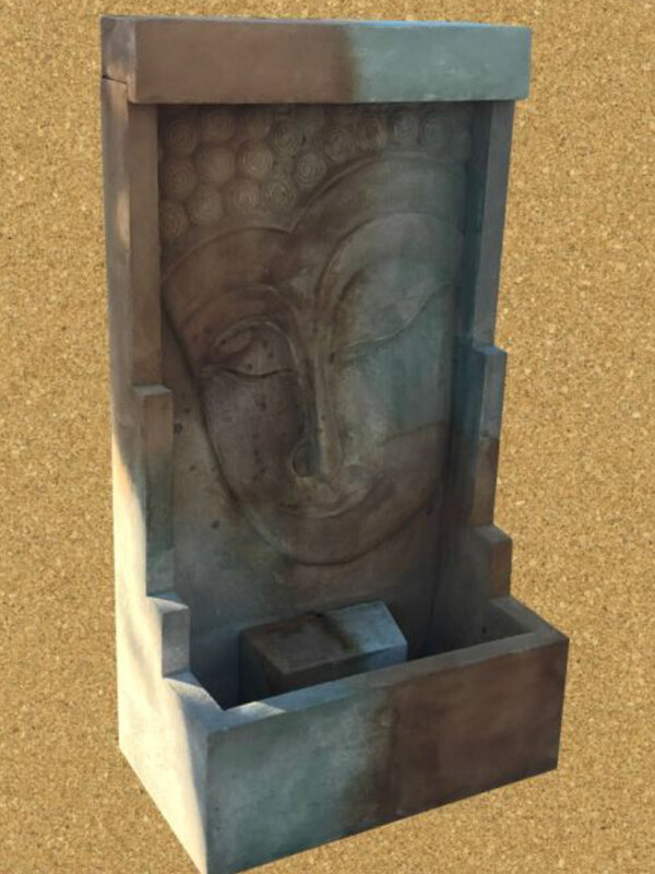 Buddha Wall Fountain Medium