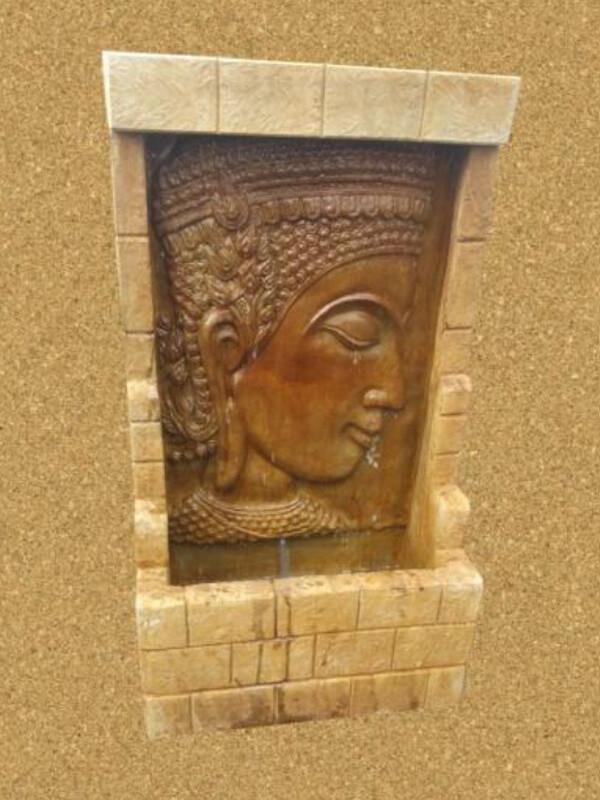 Buddha Wall Fountain Small