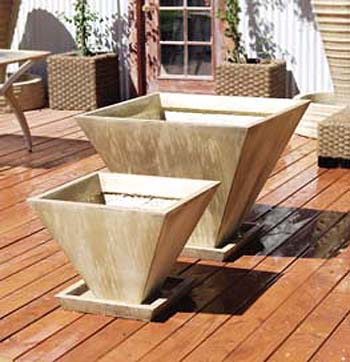 Oblique Planters, Medium/Large