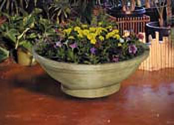 "Wok Planter (24"" wide or 32"" wide)"