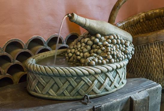 Tuscan Vineyard Fountain