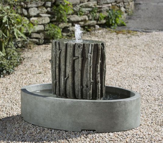 Birches Oval Fountain