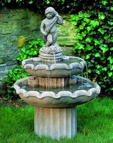 Amalfi Two Tier Fountain
