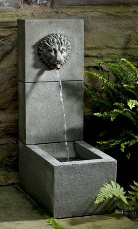 Lion Element Fountain