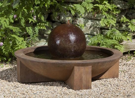 Low Zen Sphere Fountain