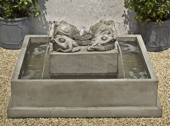 Four Toads Fountain
