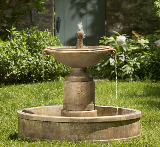 Borghese in Basin Fountain