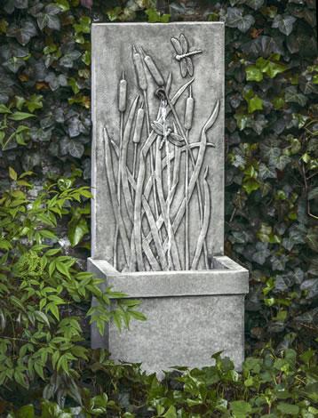 Dragonfly Wall Fountain